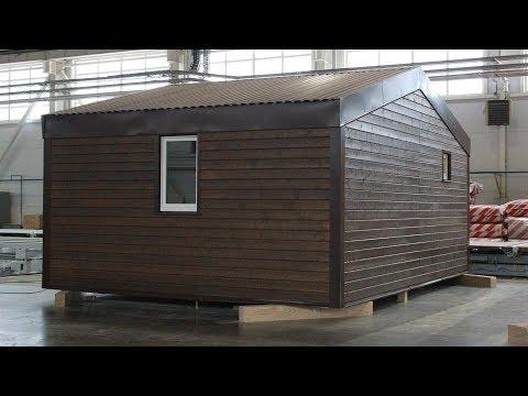 Быстровозводимый модульный дом / Prefabricated Modular House
