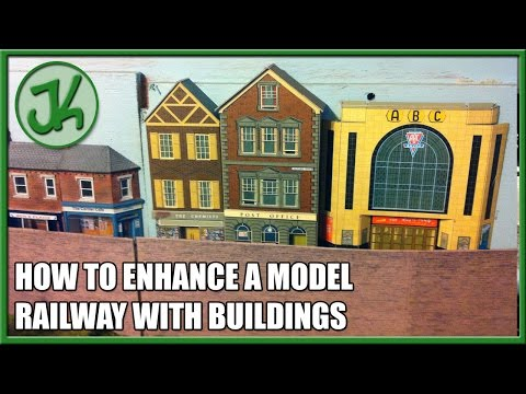How To Enhance A Model Railway With Buildings