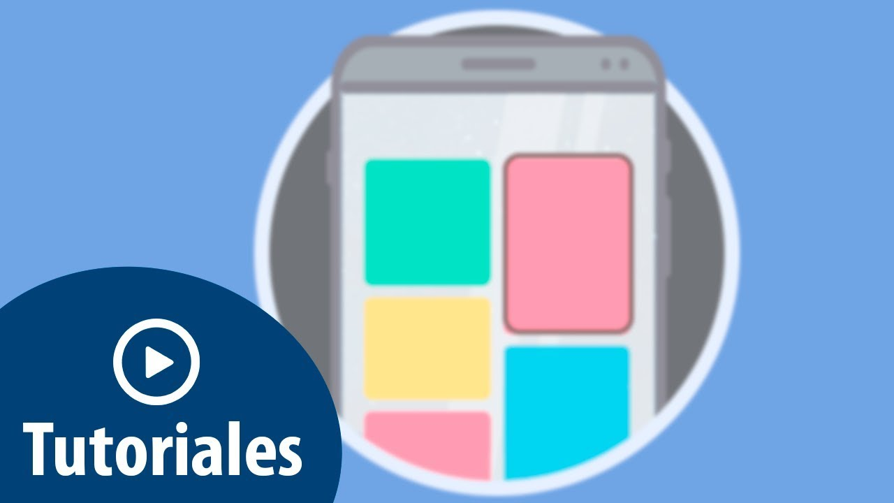 Quitar fondo o marcos en iconos de aplicaciones Samsung Galaxy S8 ...