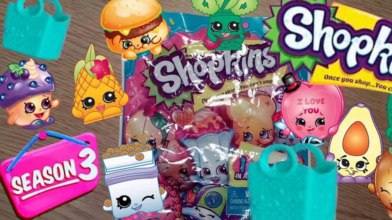 Shopkins Season 3. Шопкинс 3 сезон! - YouTube