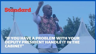 Belgut MP Koech tells President Uhuru to sort political issues with DP Ruto in the cabinet