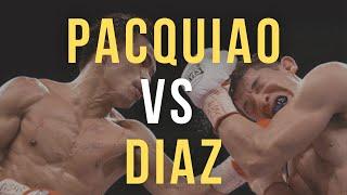 PACQUIAO vs DIAZ | June 28, 2008