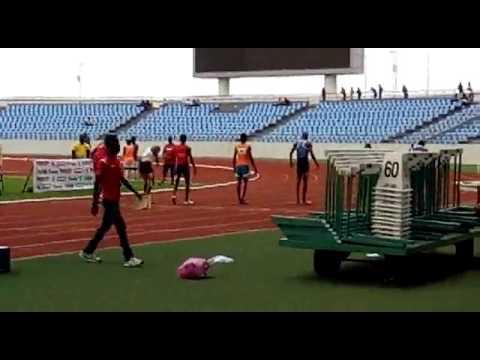 Ghana's fastest 800m  runner. UYAC!!!...