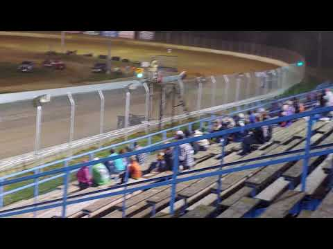Super late models feature race at Florence speedway 4/6/19