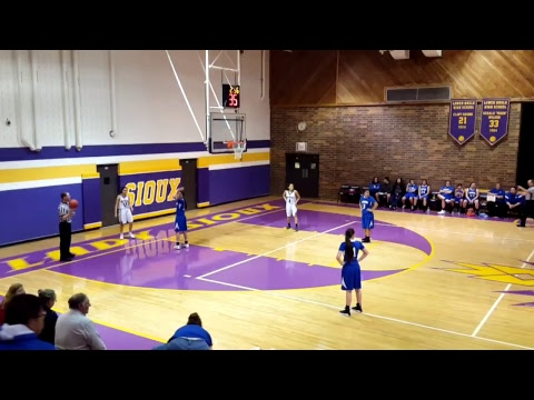 Lady Sioux vs Oelrichs Tigers