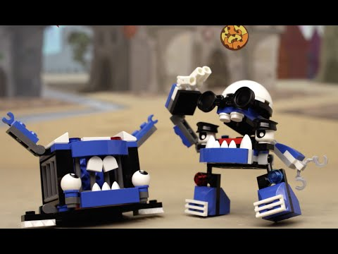 Wild Cookeroni Chase in Downtown Mixopolis! - LEGO Mixels - Series 7 Mini Movie 1