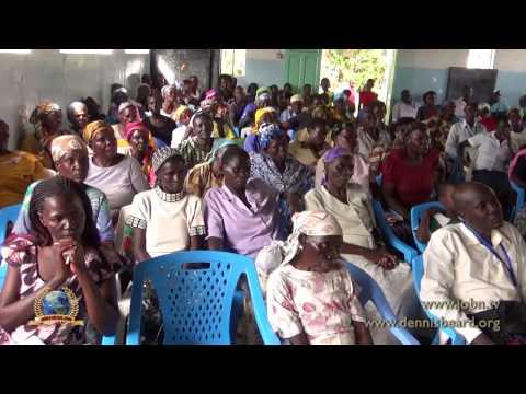 Dennis Beard Ministries -  Moroni,  Africa -  Born Again