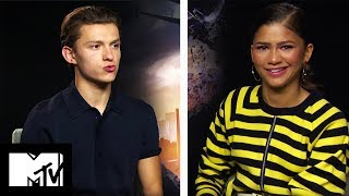Tom Holland & Zendaya Play Would You Rather | Spider Man Homecoming | Mtv Movies
