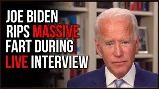 Joe Biden Rips MASSIVE Fart Live During Interview And We Laugh At it For 15 Minutes