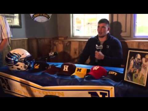 VIDEO: Newtown's Ben Mason picks his school.