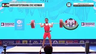 2019 IWF World Championships Men 61 kg Group C