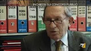 INCHIESTA SUI CONCORSI PUBBLICI (Piazza Pulita La 7 del 23 Febbraio)
