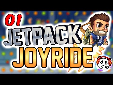 Jetpack Joyride App 🚁 Part 1 💣 Pandido Gaming