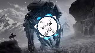 Avee Player Template Cyborg Robot Rider Mountains Ice #101