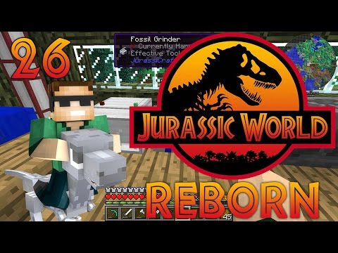 """Ornithomimus Dinosaur and More!"" - Ep. 26 - Minecraft: Jurassic World Reborn"