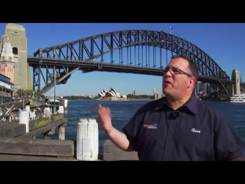 A Taste Of Sydney Harbour Icons With Lego® Bricks