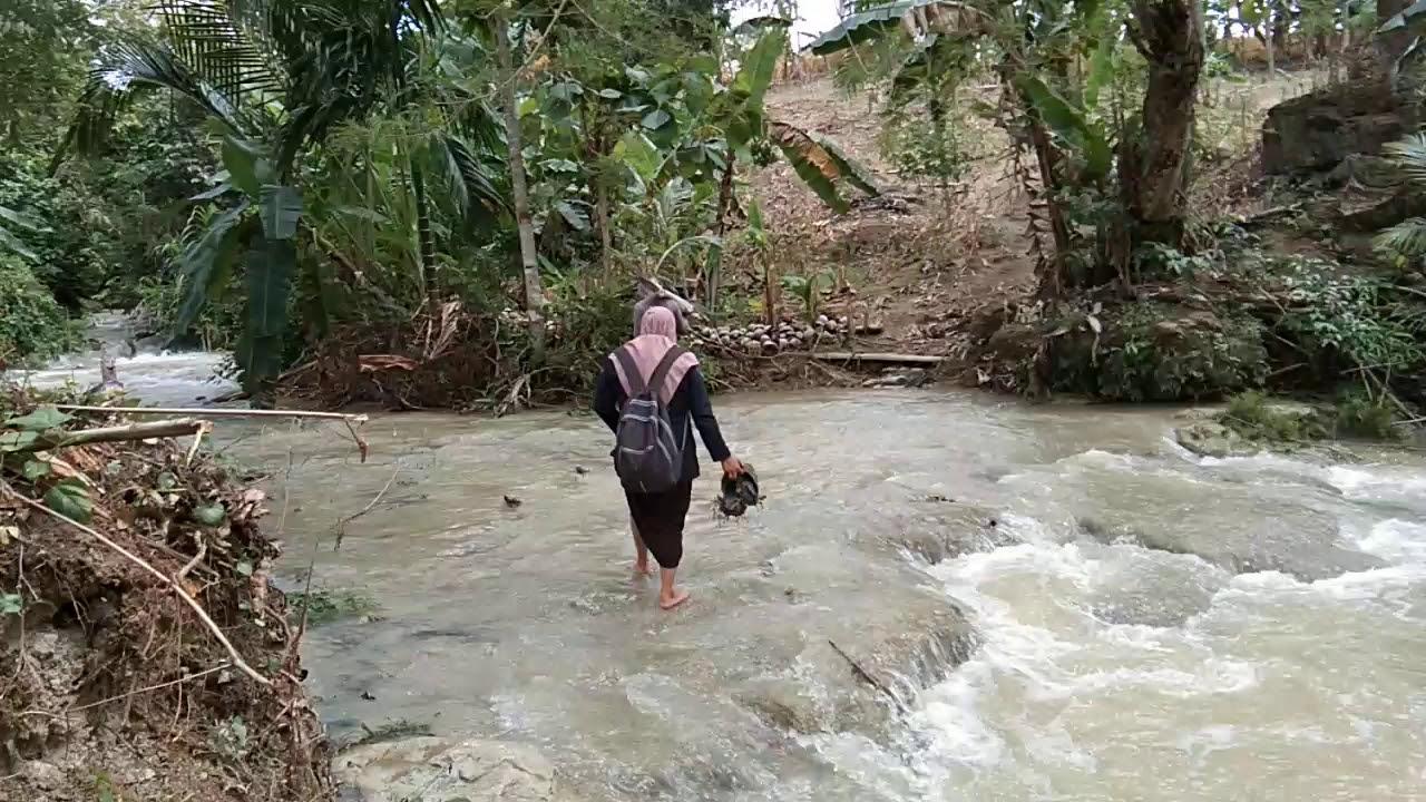 gunung kudaki sungai kuseberangi demi data berkualitas youtube