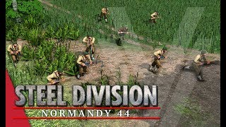 Rifles, Rifles and More Rifles! Steel Division: Normandy 44 Gameplay (Odon, 4v4)