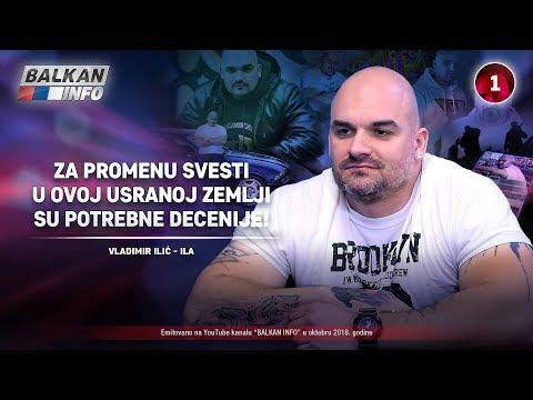 INTERVJU: Vladimir Ilić - Za promenu svesti u ovoj usranoj zemlji su potrebne decenije! (18.10.2018)