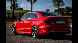 2018 Audi RS3 Limousine (400HP)! - launch control, exterior, sound and more!
