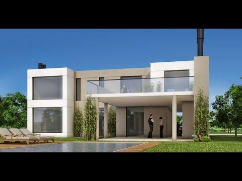 Planos de casas de 8x10 con medidas youtube for Planos de casas con medidas