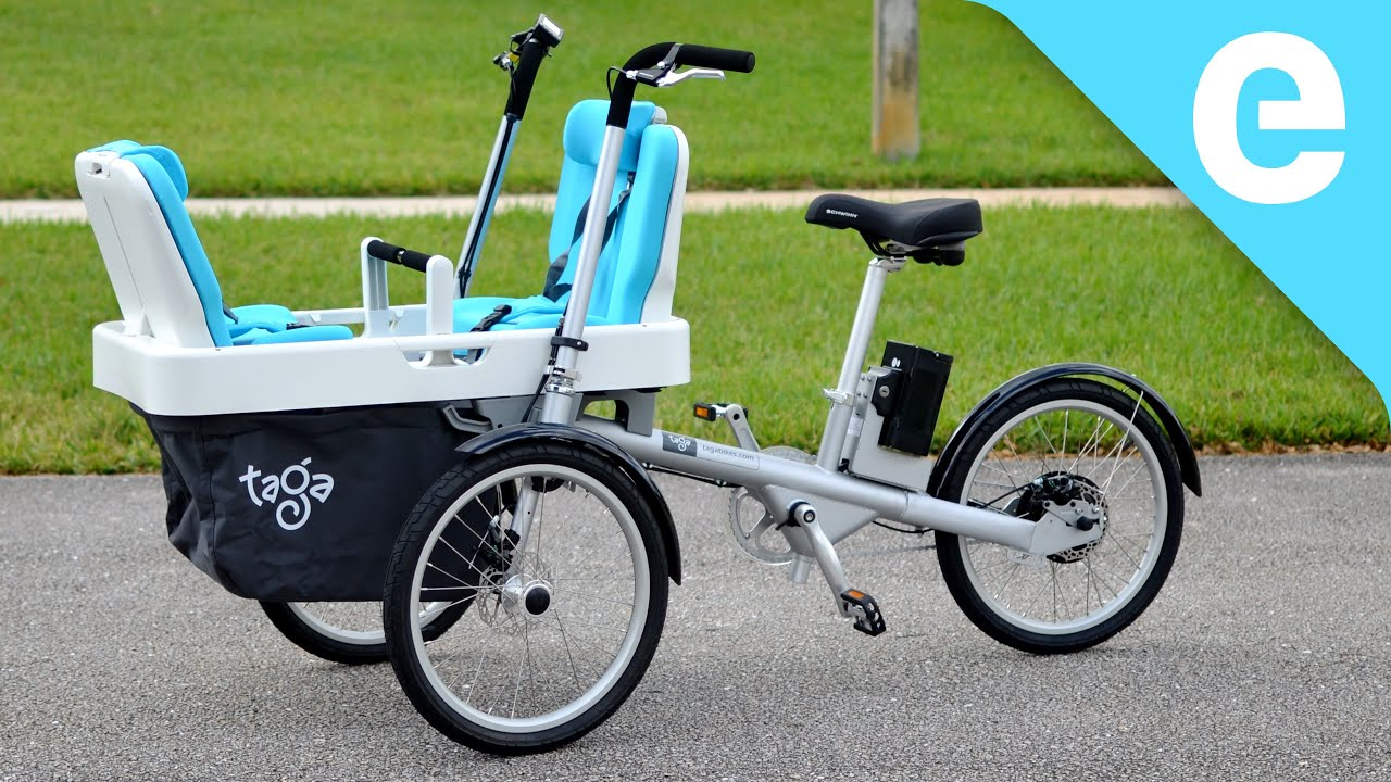 Review Taga Family Electric Cargo Bike Is The Minivan Of The E