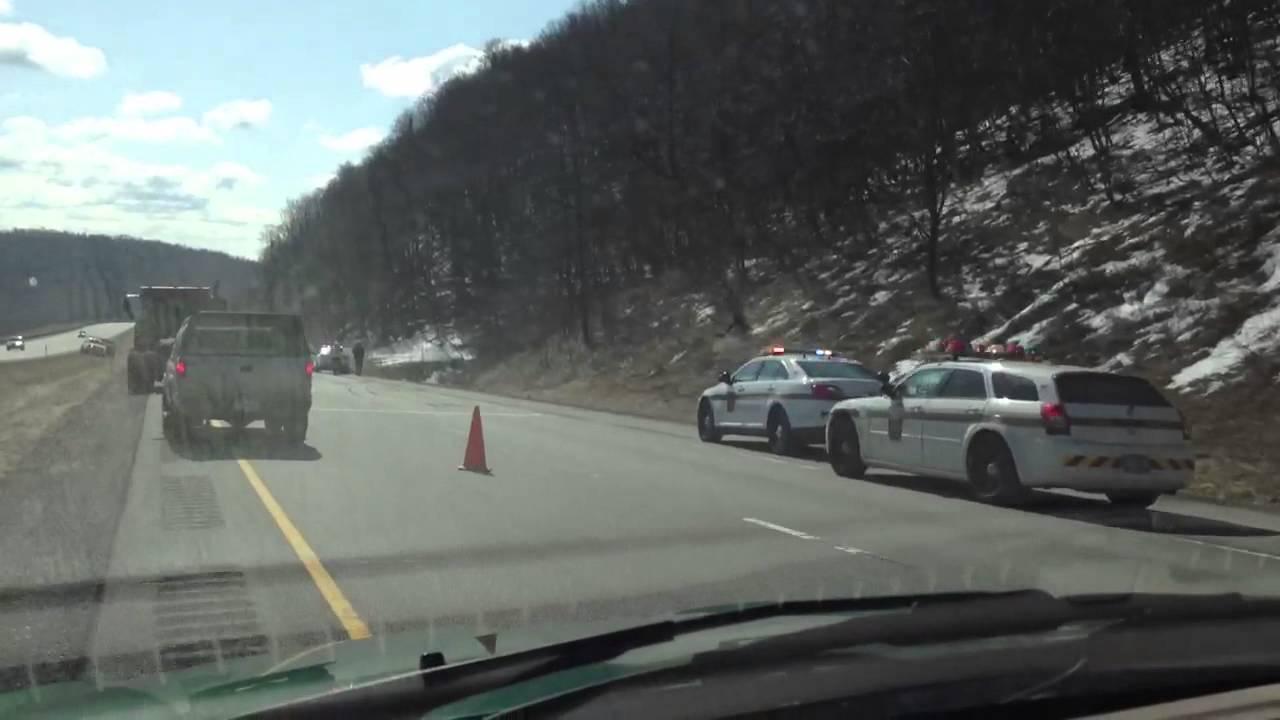 Horrific accident on route 22