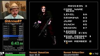 G.I. Joe: A Real American Hero NES speedrun in 31:48 by Arcus