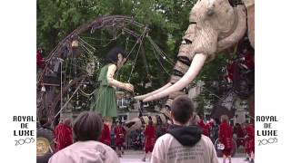 "Documentaire Royal de Luxe : ""La visite du sultan des Indes"""