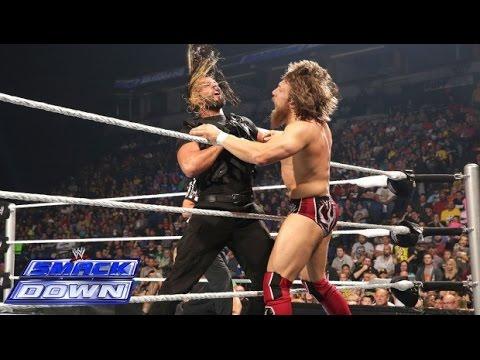 Daniel Bryan VS Seth Rollins - مصاعه حرة دانيال براين - اخر حلقات المصارعه Wwe