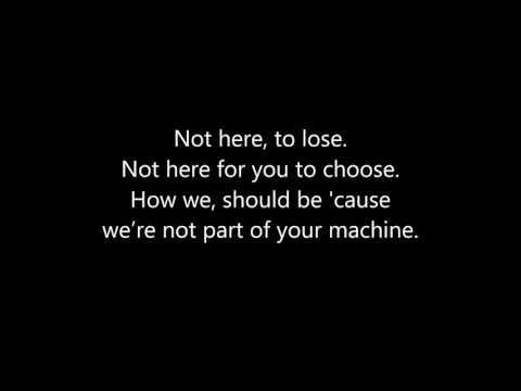 MisterWives - Machine (LYRICS)
