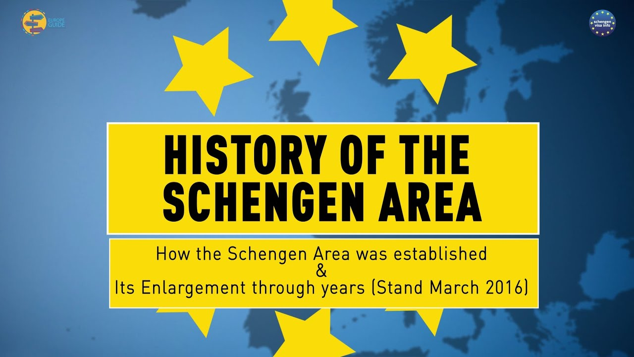 Schengen Area History Facts And Benefits Youtube