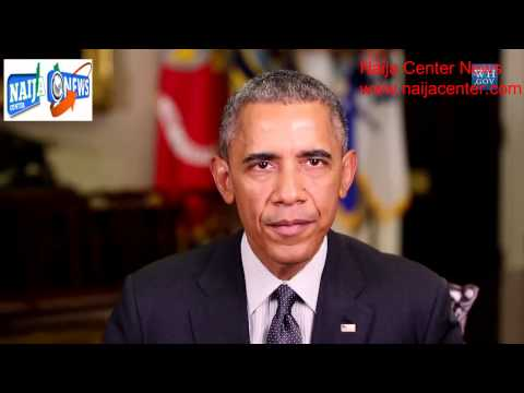 President Obama Delivers a Message to the Nigerian People new