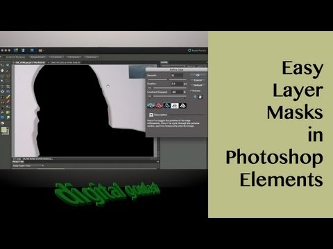 Photoshop Elements Quick Tip - Easy Layer Masks In Elements 8