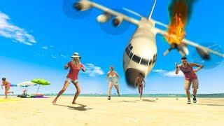 Emergency Landing Goes Wrong! (GTA RP)
