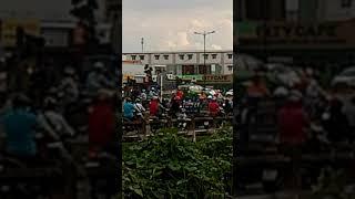 Tai nạn giao thông 16h 14.6.2019.ngã 4 Cá sấu hoa cà, Thủ Đức.