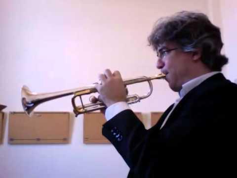 CONCONE - Lyrical Studies for trumpet - N. 8 - Allegretto