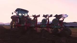 Prep For Seeding Corn || Kverneland Plow / Maschio Power Harrow 2018 || HvW Custom