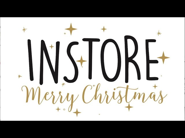 INSTORE wishes you this christmas.....