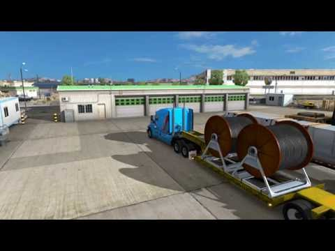 First Delivery to Airport In Phoenix In American Truck Simulator
