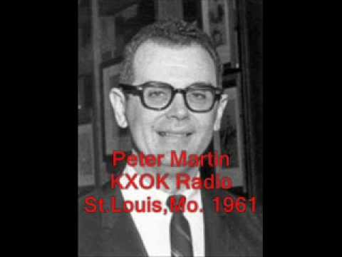 Peter Martin KXOX Radio -  Feb.3, 1961, St.Louis