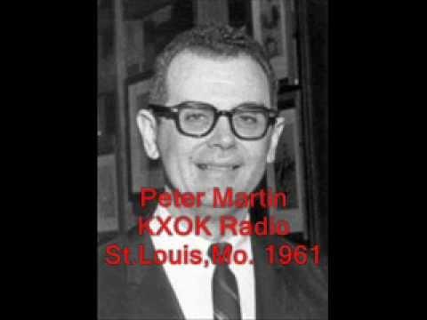 Peter Martin KXOX Radio -  Feb.3, 1961, St.Louis
