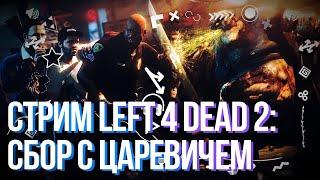 Вечерний сбор с Царевичем в Left 4 Dead 2 ● КРЫША 🔥 Царевич играет в СБОР на КРЫШЕ