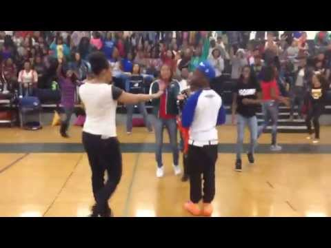 SOUF JAMES #CRZYbuz Visits Lucille Brown Middle