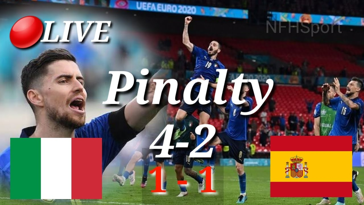 Kemenangan italia vs spanyol euro 2021 || italy vs spain ...