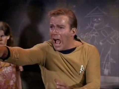 Captain Kirk No Blah Blah Blah!
