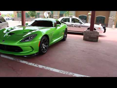 Lime Green SRT Viper GTS Spotted in Superior, Colorado!
