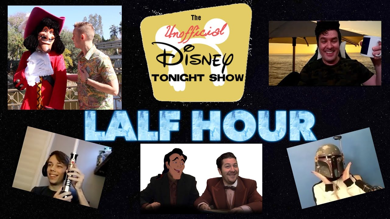 EP 6: The Disney Tonight Show Lalf Hour