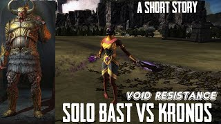 Bast vs Kronos| A short story | DAWN OF TITANS