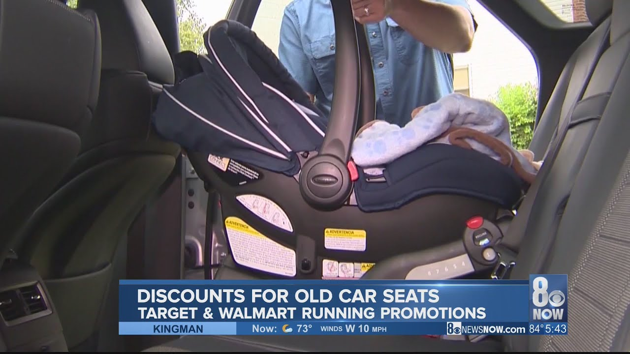 Baby Car Seats At Target Walmart Target Ask For Old Car Seats During National Baby Safety Month